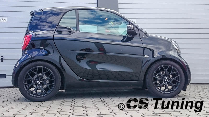 tieferlegung des smart fortwo 453 cs tuning. Black Bedroom Furniture Sets. Home Design Ideas
